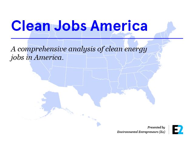 Clean Jobs America Cover
