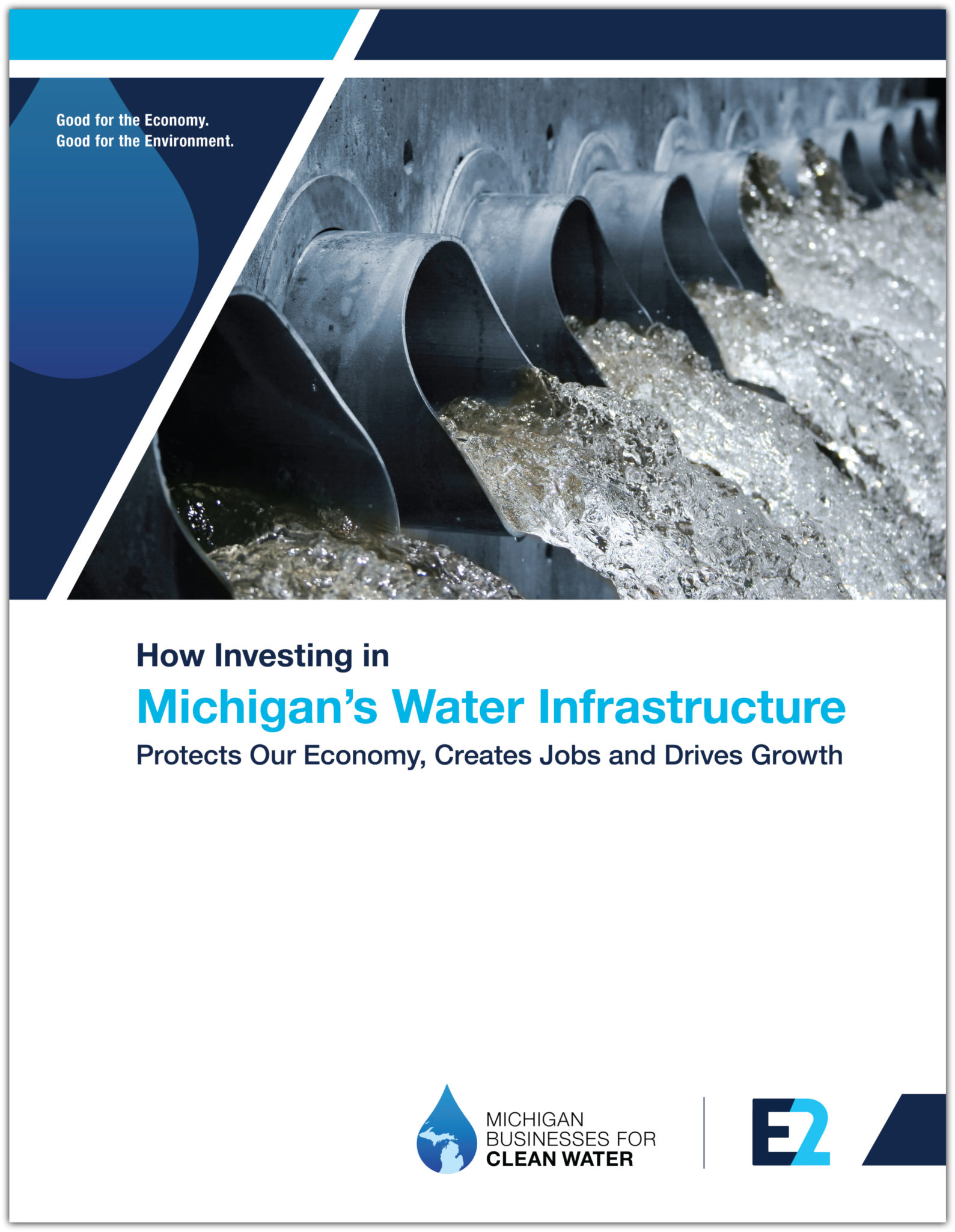 Michigan water infrastructure report cover